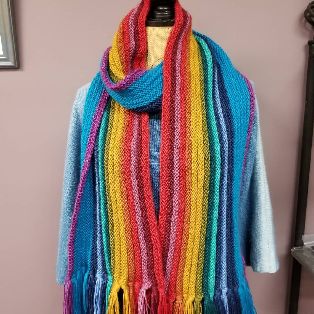 Scarf Fit For A Doctor Kit Hook A Frog Fiber Fun